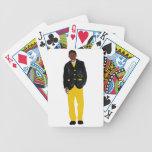 Hombre - alfa barajas de cartas