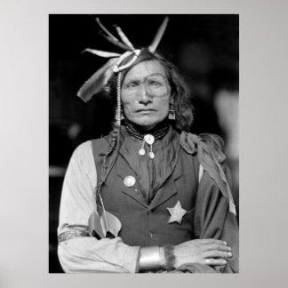 Hombre blanco del hierro: 1900 poster