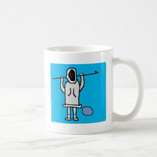 Hombre Chillin de Inupiaq Taza De Café