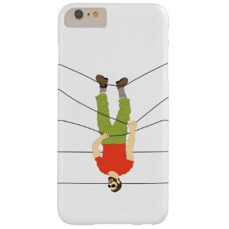 hombre colgante funda para iPhone 6 plus barely there