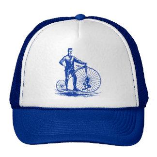 Hombre con el comino del penique - azul marino gorra