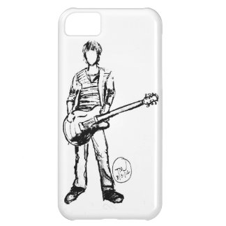 Hombre con la guitarra funda para iPhone 5C