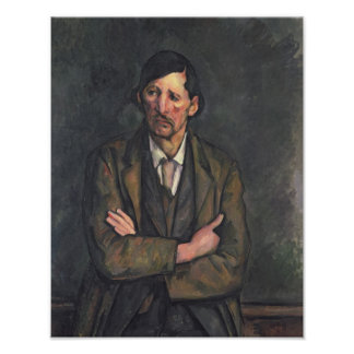 Hombre con los brazos cruzados, c.1899 posters