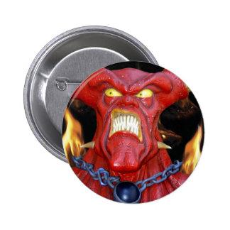 Hombre córneo del diablo pin