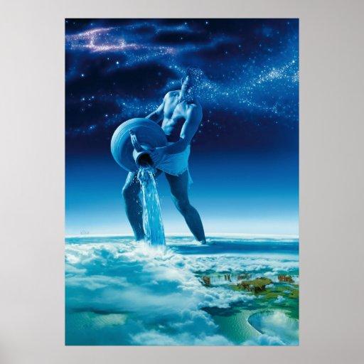Hombre de agua - pósteres póster