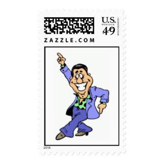 """""""Hombre de baile de los años 70 Sellos"""