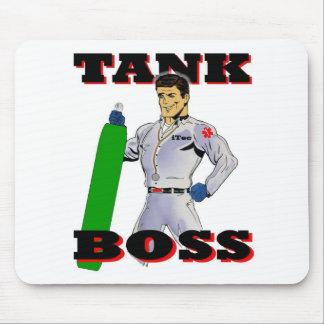 Hombre de Boss del tanque Mouse Pad