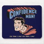 ¡Hombre de confianza! Tapete De Raton