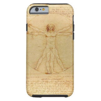 Hombre de da Vinci Vitruvian Funda Para iPhone 6 Tough
