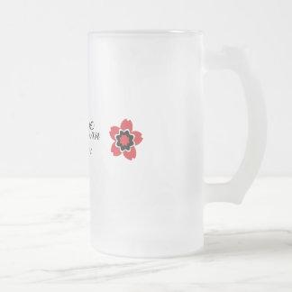Hombre de encargo moderno de la flor de cerezo mej tazas