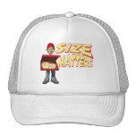 Hombre de entrega de la pizza gorra