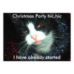hombre de fiesta fresco hic, fiesta de Navidad hic Invitación Personalizada
