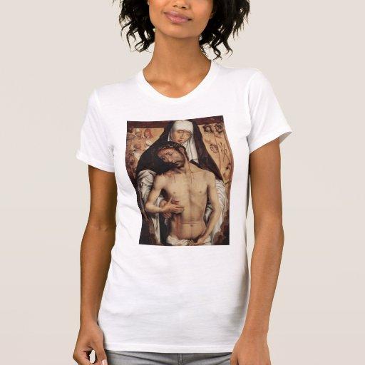 Hombre de Hans Memling- de dolores en los brazos d Camiseta