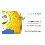 Hombre de ideas, Sr. Bob Bright Plantilla De Tarjeta De Visita