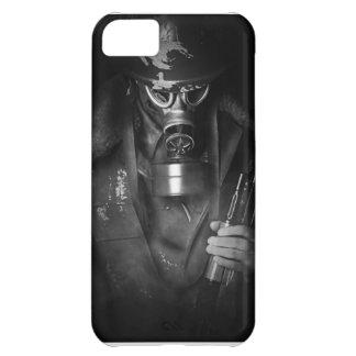hombre de la ametralladora carcasa para iPhone 5C