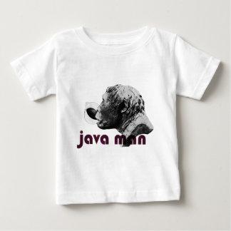 Hombre de la arcilla de Java Tee Shirts