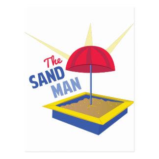 Hombre de la arena postal
