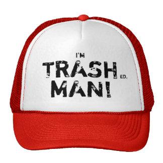 Hombre de la basura gorro de camionero