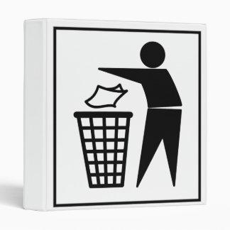 """Hombre de la basura que descarga la basura de carpeta 1"""""""