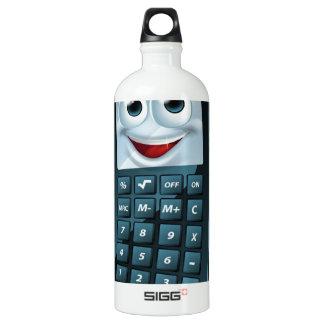 Hombre de la calculadora del dibujo animado