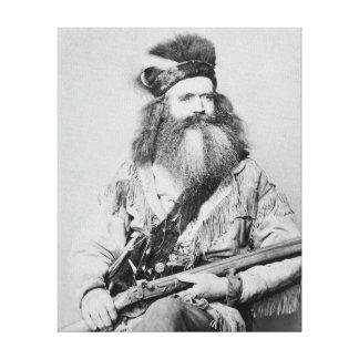 Hombre de la frontera, 1864 impresiones de lienzo