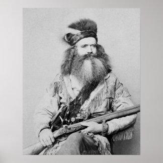 Hombre de la frontera, 1864 posters