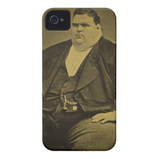 Hombre de la grasa del acto secundario del monstru iPhone 4 fundas