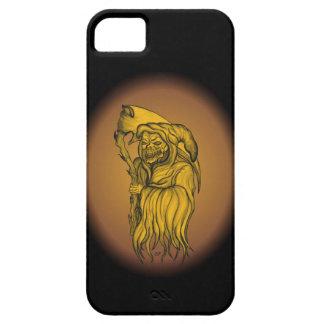 Hombre de la guadaña - la muerte iPhone 5 fundas