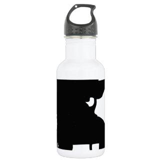 Hombre de la guitarra botella de agua
