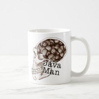 Hombre de la haba de Java Taza De Café