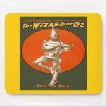 Hombre de la lata de mago de Oz Tapete De Raton