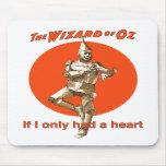 Hombre de la lata de mago de Oz Alfombrilla De Ratones