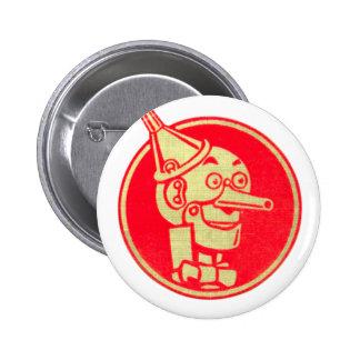 Hombre de la lata, mago de Oz Pin