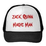 Hombre de la magia de Zack Quinn Gorro De Camionero