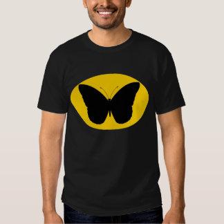 Hombre de la mariposa remeras
