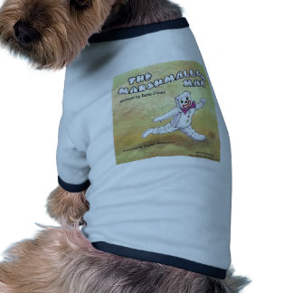 Hombre de la melcocha camisa de perrito