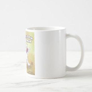 Hombre de la melcocha taza clásica