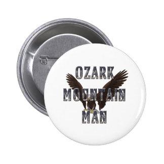 Hombre de la montaña de Ozark de la CAMISETA Pin