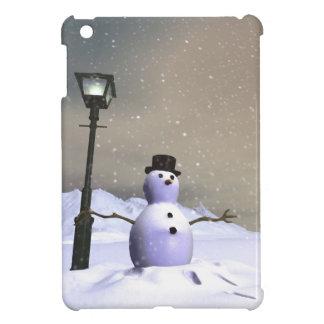 Hombre de la nieve iPad mini cárcasas