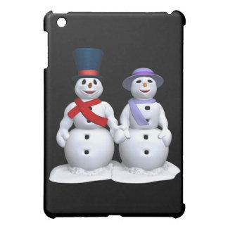 Hombre de la nieve y mujer de la nieve