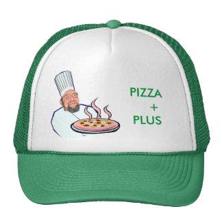 hombre de la pizza de t j, PIZZA    +MÁS Gorro De Camionero