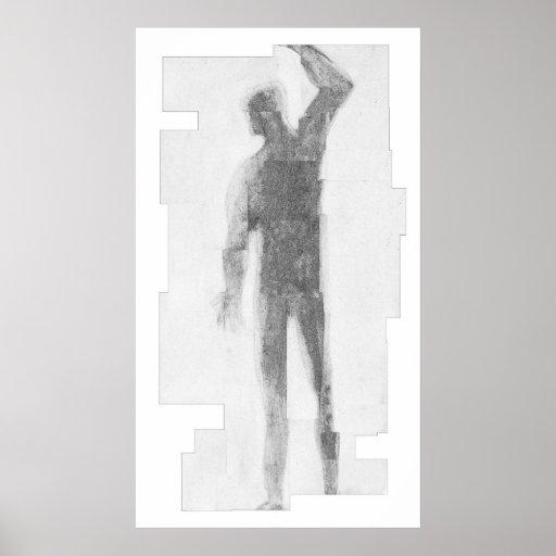 Hombre de la sombra poster
