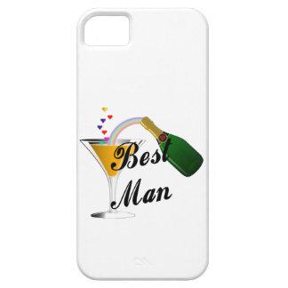 Hombre de la tostada de Champán el mejor Funda Para iPhone 5 Barely There