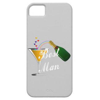 Hombre de la tostada de Champán el mejor Funda Para iPhone SE/5/5s