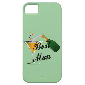 Hombre de la tostada de Champán el mejor iPhone 5 Carcasa