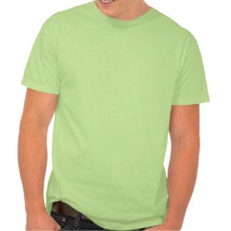 Hombre de las cavernas; Verde Camiseta
