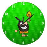 Hombre de las cavernas; Verde Reloj