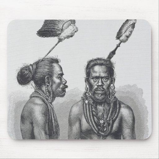 Hombre de las islas de Ruk Alfombrillas De Ratón