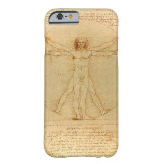 Hombre de Leonardo da Vinci Vitruvian Funda De iPhone 6 Barely There