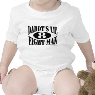 Hombre de Lil 8 del papá Trajes De Bebé